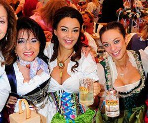 v.l.: Vicky Leandros, Regine Sixt, Verona Pooth, Franziska Knuppe